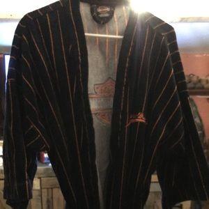 Harley Davidson bathrobe
